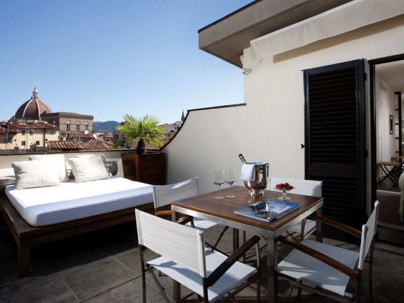 Gallery Art Boutique hotel Florence penthouse suite