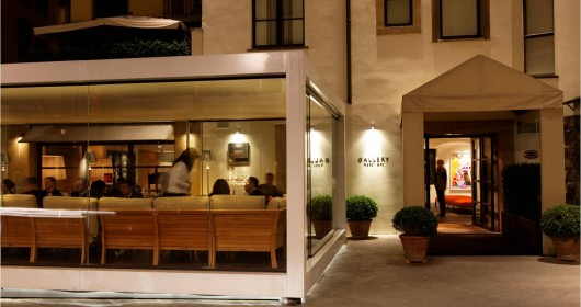 Gallery Art Boutique hotel Florence restaurant