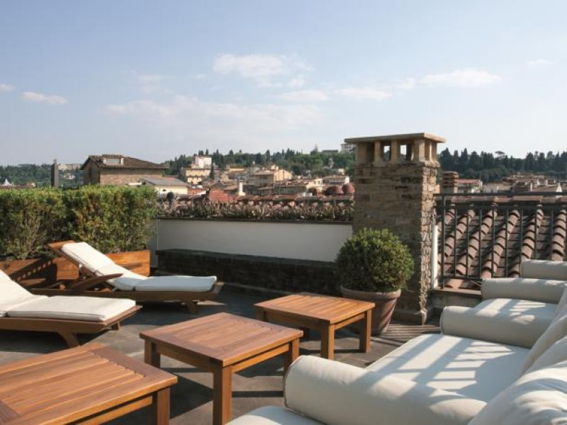 Gallery Art Boutique hotel Florence terrace