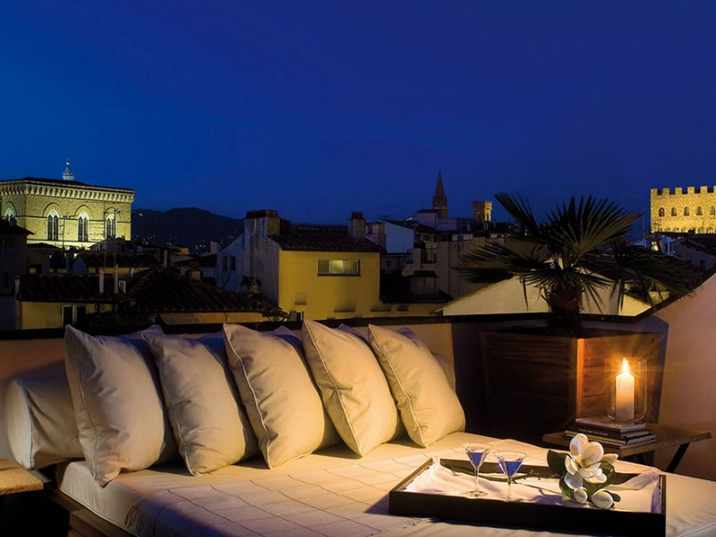 Gallery Art Boutique hotel Florence terrace1