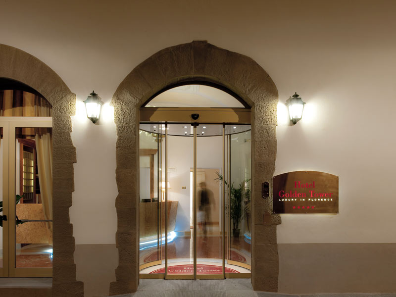 golden tower hotel & spa florence exterior